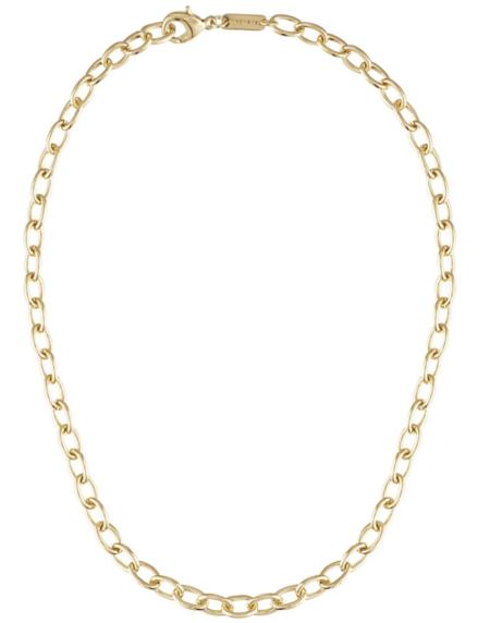 Machete oval link necklace