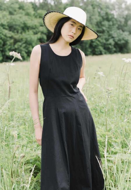 beaumont organic remi organic cotton dress - Black