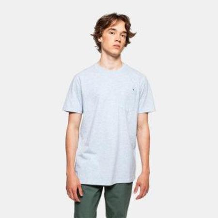 RVLT sverre t-shirt - blue melange