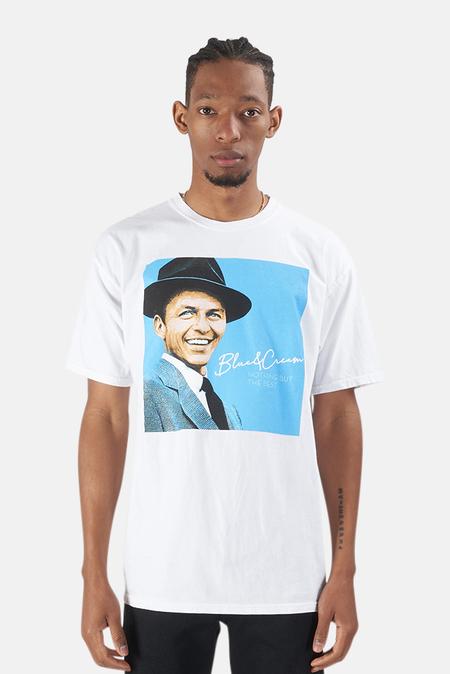 Blue&Cream Sinatra Graphic T-Shirt - White