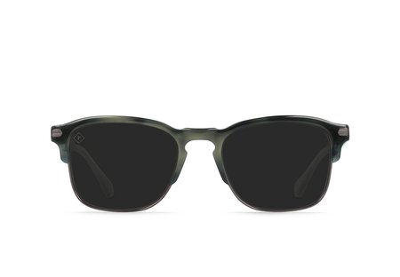 Raen wiley alchemy polarized glasses - charcoal tort/darker smoke