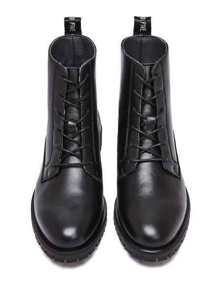 nine to five Chunky Boot #MIRU - black