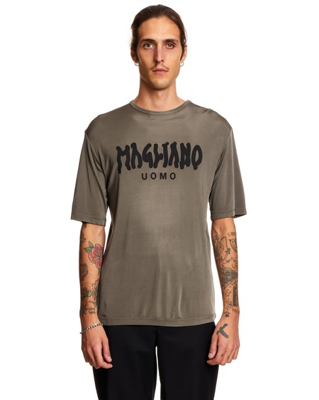 Magliano T shirt with Print - Gray
