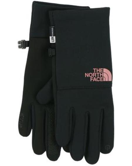 The North Face Etip Recycled Glove - TNF Black/Mesa Rose