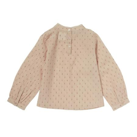 Kids Bonheur Du Jour Lou Anne Baby Blouse - Pink