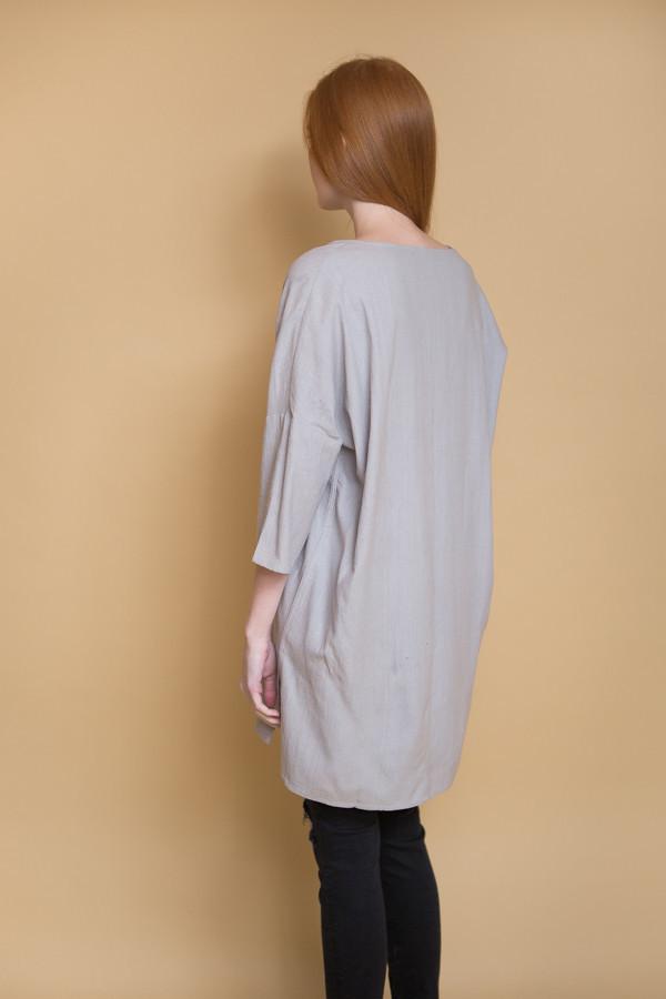 Ali Golden Kimono Tunic  / Grey