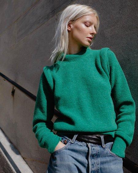 les coyotes de paris Norah Sweater - Emerald