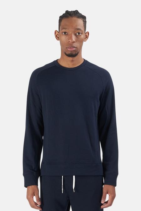 Wheelers.V Mason Crewneck Sweater - Navy