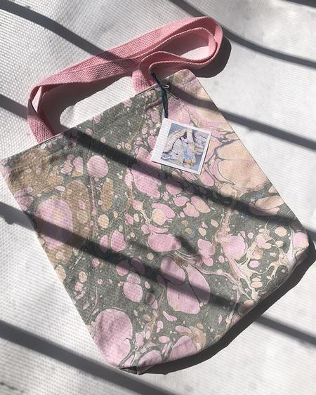 Vamp Shoes Christin Ripley Marbled Tote Bag
