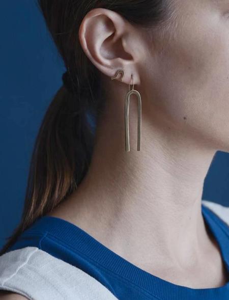 Seaworthy Jefa Earrings - Silver
