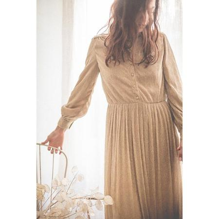 Louis Louise Marie Lou Dress - Glitter Gold