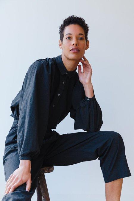 Caron Callahan Alastair Shirt - Charcoal Batiste