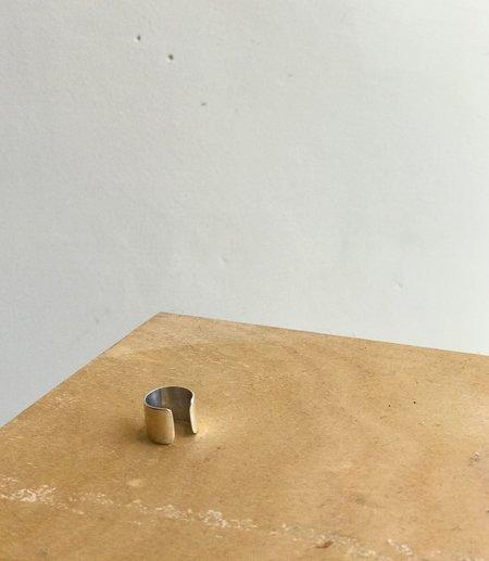 Fay Andrada Koko Ear Cuff - Silver/Silver