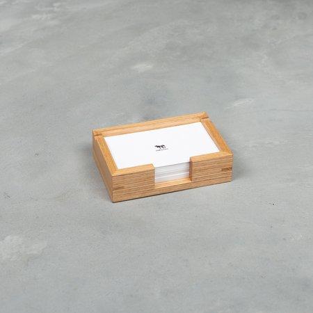 COW BOOKS Memo Tray - Wood