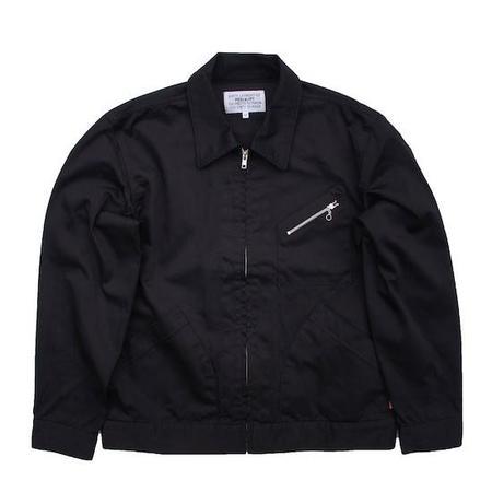 PEEL & LIFT Satin Work Jacket - Black