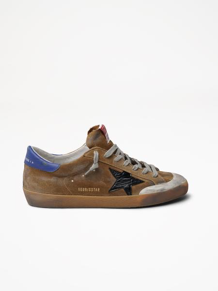 Golden Goose Superstar Sneaker Shoes - Brown/Black