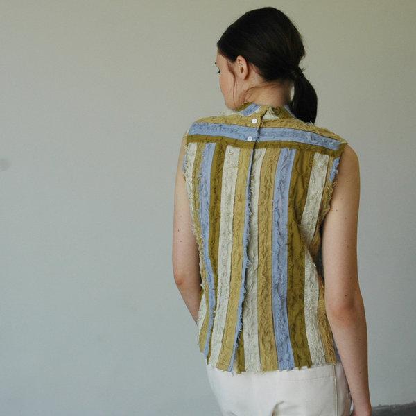 Nikki Chasin Ari Sleeveless Mock Neck - Lavender Multi