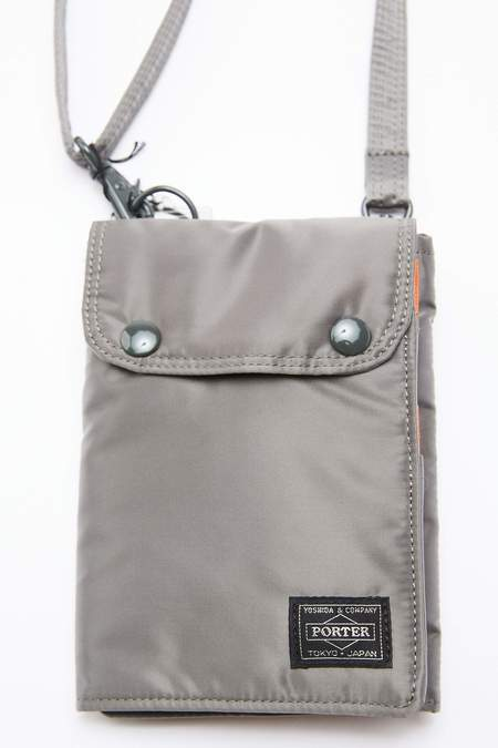 Porter Yoshida TANKER Travel Case - Silver Grey