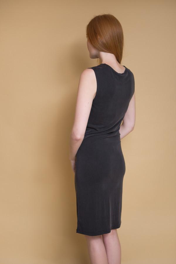 Just Female Carey Drapy Dress - Black