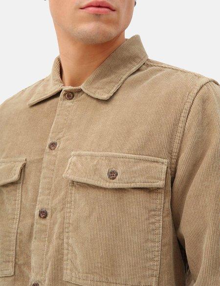 Dickies Fort Polk Corduroy Shirt - Khaki
