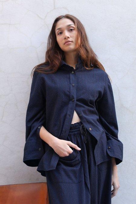 Nymane Hutton Shirt - Blue Stripe