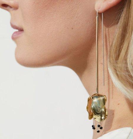 Leigh Miller Lily Drops - Brass