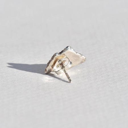Leigh Miller Jewelry Lightning Bolt Stud - Sterling silver