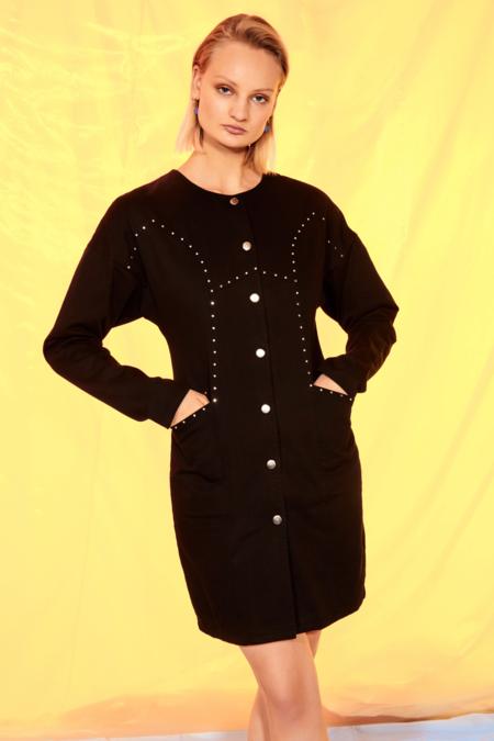Cras Isa Dress - Black