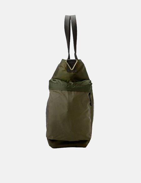 Porter Yoshida & Co Force Two Way Tote Bag - Olive Drab