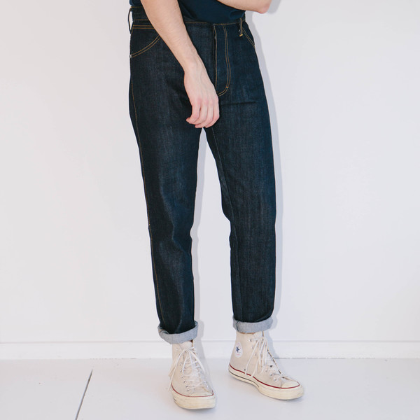 Men's Basic Rights Blue Jeans