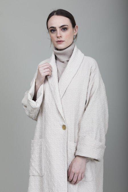 Raquel Allegra Quilted Coat - Cream