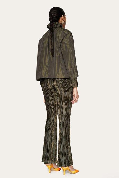 STINE GOYA Nolan Velvet Pants - Wave Seaweed