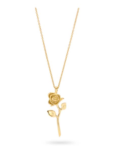 Futaba Hayashi Devotion Rose Necklace - 14k Reclaimed Gold