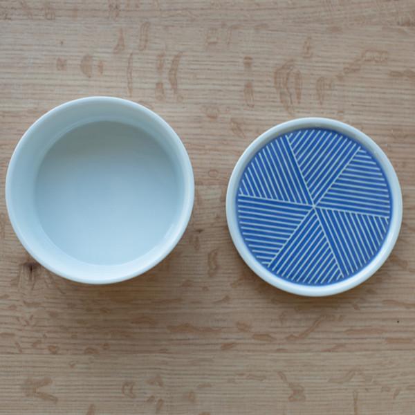 Saikai Ceramic Lidded Container