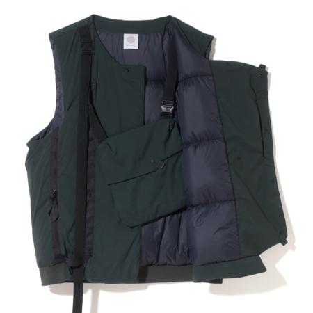 Alk Phenix Crank Vest 2 (Karu Stretch x DRYSPHERE DOWN) - Black