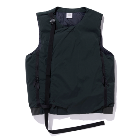Alk Phenix Crank Vest 2 (Karu Stretch x DRYSPHERE DOWN) - Dark Green