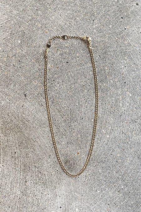 MIANSAI CUBAN LINK CHOKER - 18K Yellow Gold