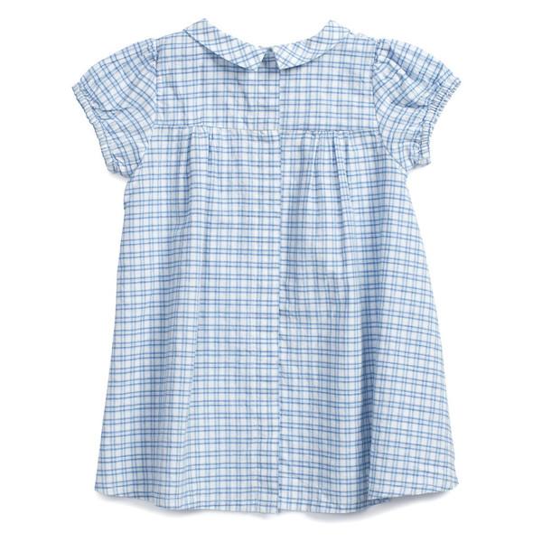 Caramel Baby & Child Annatto Baby Dress Window Pane