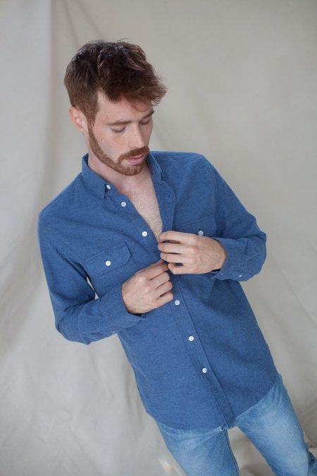 La Paz Pacheco Shirt - Stone Blue