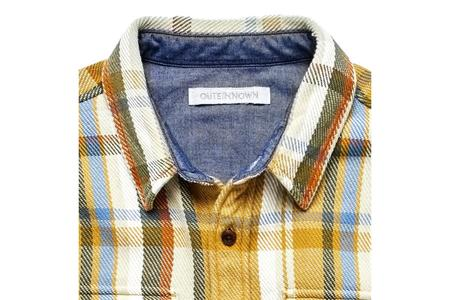 Outerknown Blanket Shirt - Leo Plaid