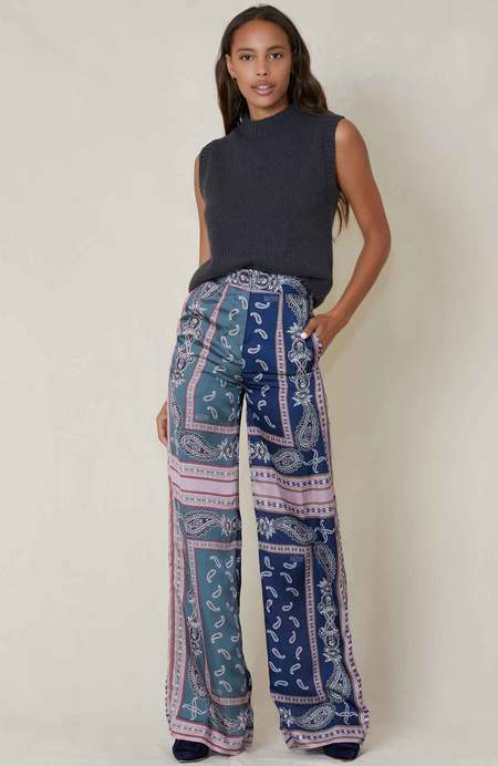 ROKH Printed Trousers - Snakeprint