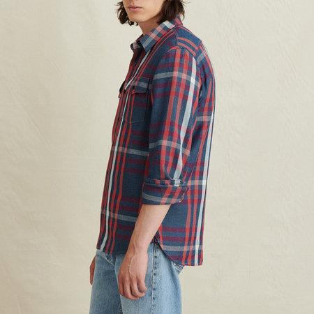 Alex Mill Flannel Chore Shirt - Pink/Indigo Plaid