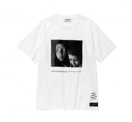 POET MEETS DUBWISE G&B Photo T-Shirt - White