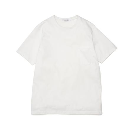 Nanamica Pocket T Shirt - White