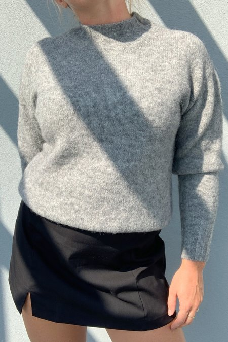 PALOMA WOOL Rodriguez Alpaca Wool Oversized Sweater - Grey