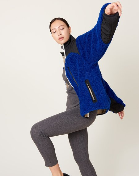 Sandy Liang Rushi Fleece - Cobalt