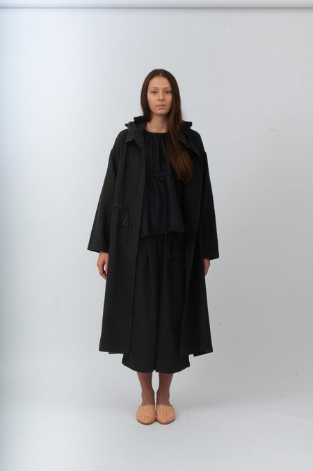 Bunon Hood Coat - Grey