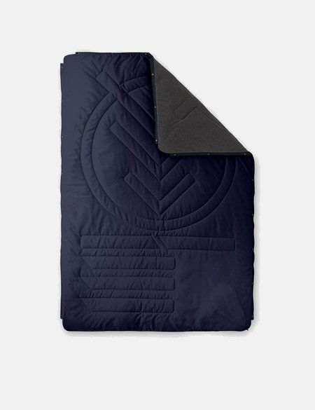 Voited Blankets Voited Fleece Pillow Blanket - Dark Navy Blue