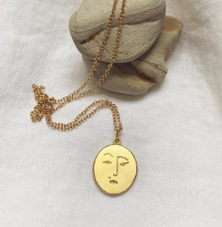 Mercurial NYC Sassy Moon Necklace