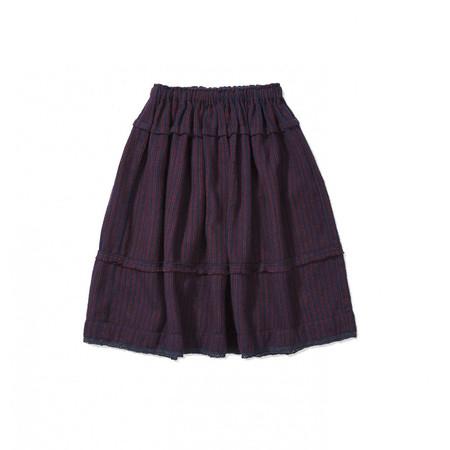 KIDS Caramel Coquina Skirt - Royal Stripe